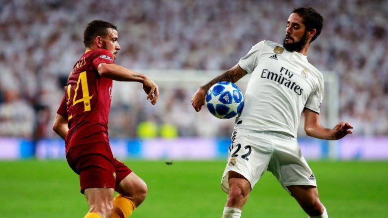 Roma-Real Madrid: Formacionet e mundshme, Isco nga fillimi