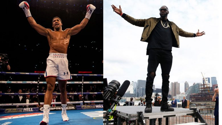 Anthony Joshua, Deontay Wilder (Foto: Getty Images/Guliver)