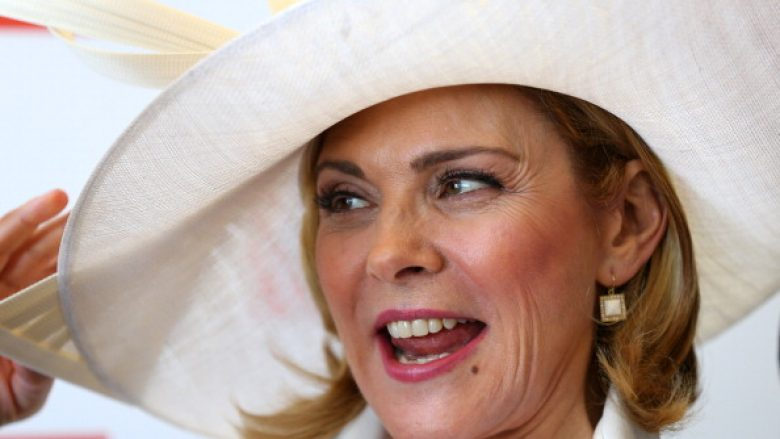 Kim Cattrall (Photo by Cameron Spencer/Getty Images for the VRC)