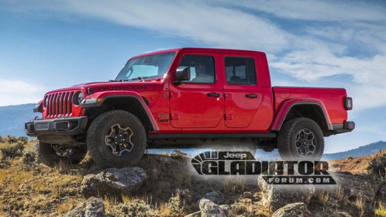 Ky është Jeep Gladiator 2020 (Foto)