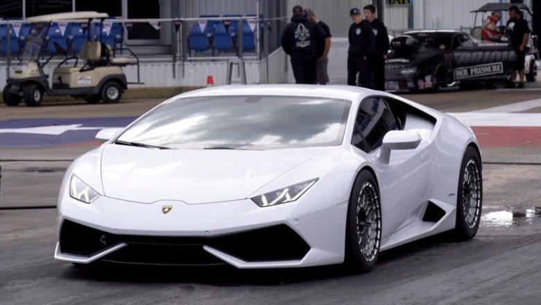 Lamborghini Huracan i modifikuar me 2,000 kuaj fuqi, shpejtësi marramendëse brenda tetë sekondave (Video)