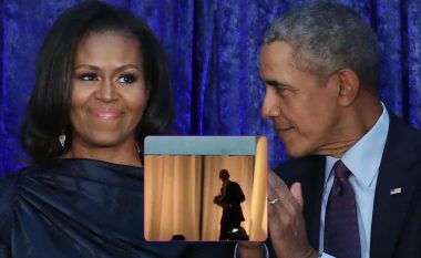 Obama merr simpatinë e të gjithëve, e befason me lule Michellen në promocionin e librit të saj