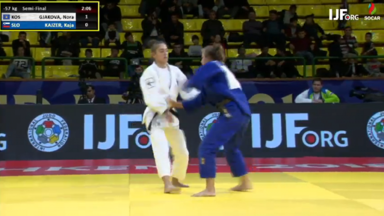Nora Gjakova dhe Distria Krasniqi kapin finalet në Grand Prix 'Tashkent 2018'