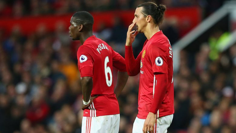 Pogba - Ibrahimovic (Foto: Alex Livesey/Getty Images/Guliver)