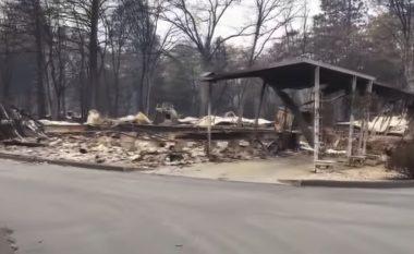 """""""Qyteza e zhdukur"""" nga zjarret në Kaliforni - nga pamjet, duket se ka ndodhur apokalipsi (Video)"""