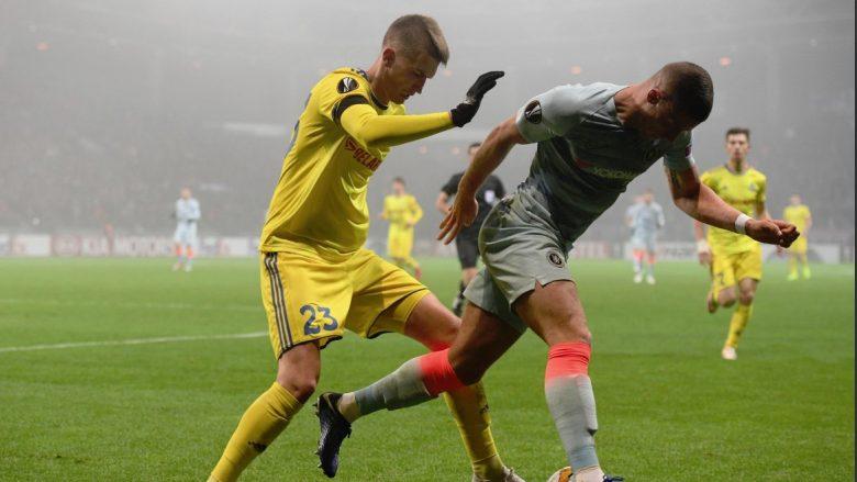 Bate Borisov 0-1 Chelsea, notat e lojtarëve: Shkëlqejnë Giroud, Hazard e Jorginho