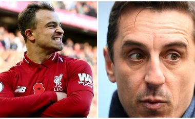 Shaqiri refuzon të pijë kafe me Neville, dëshiron titullin me Liverpoolit për respekt ndaj Kloppit