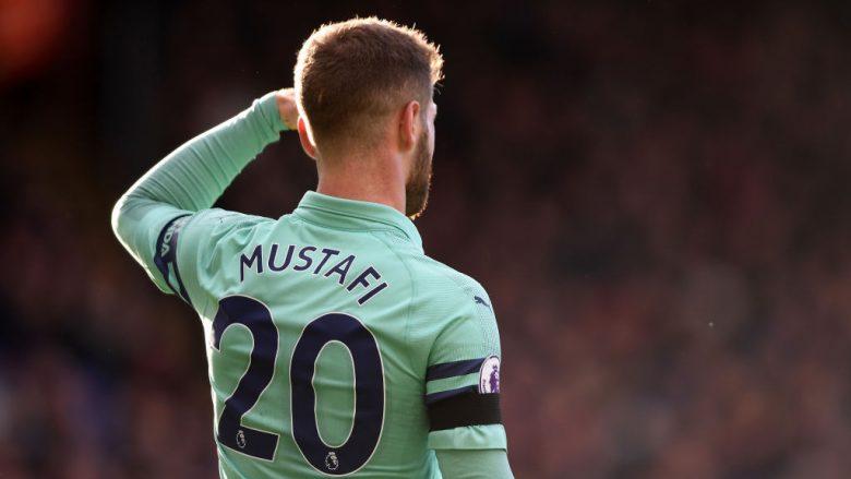 Mustafi i gatshëm për një fitore ndaj Tottenhamit