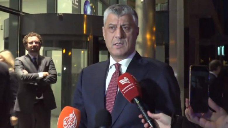 Thaçi: Diskursi i Vuçiqit ishte agresiv dhe arrogant