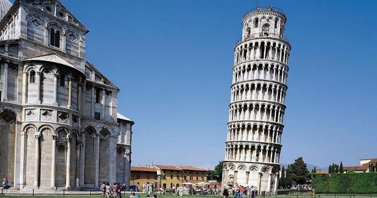 E thonë studiuesit: Kulla e Pizës ka humbur 4 centimetra të anësisë së saj
