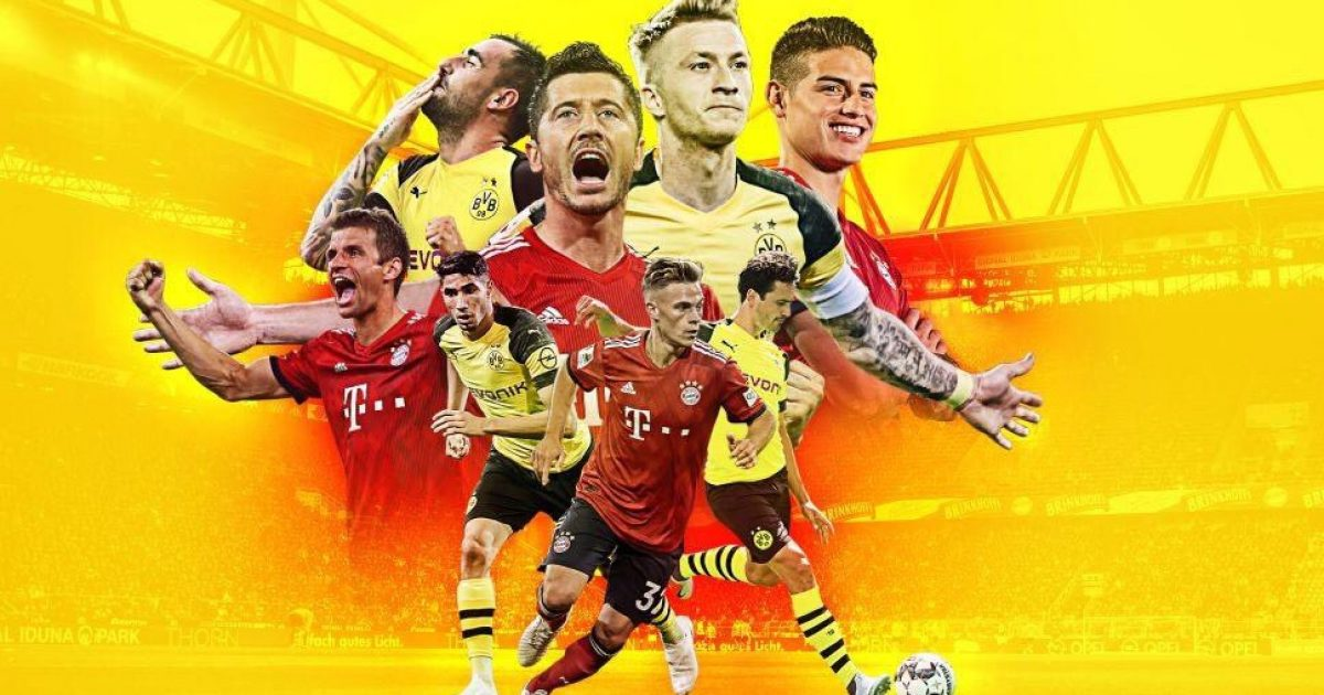 Dortmund – Bayern Munich, formacionet zyrtare të klasikes gjermane