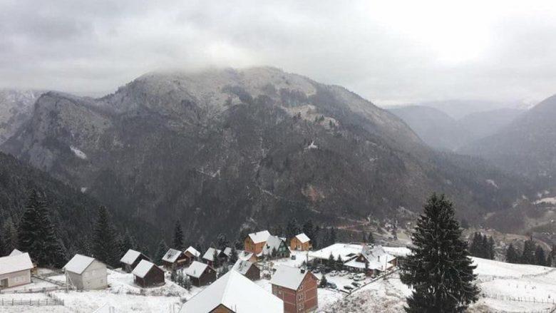 Reshje të borës në Kosovë, Shqipëri dhe Maqedoni