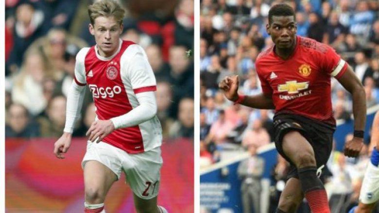 Segura: Pogba apo De Jong te Barcelona? Më shumë gjasa ka holandezi