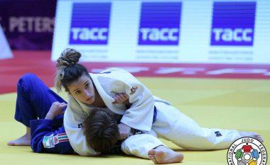 Distria Krasniqi fiton medaljen e bronztë në Grand Prixin e Hagës, mposht kinezen brenda 20 sekondave