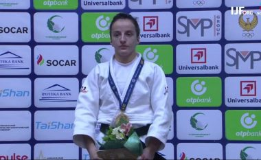 Distria Krasniqi fiton medaljen e artë në Grand Prixin 'Tashkent 2018'