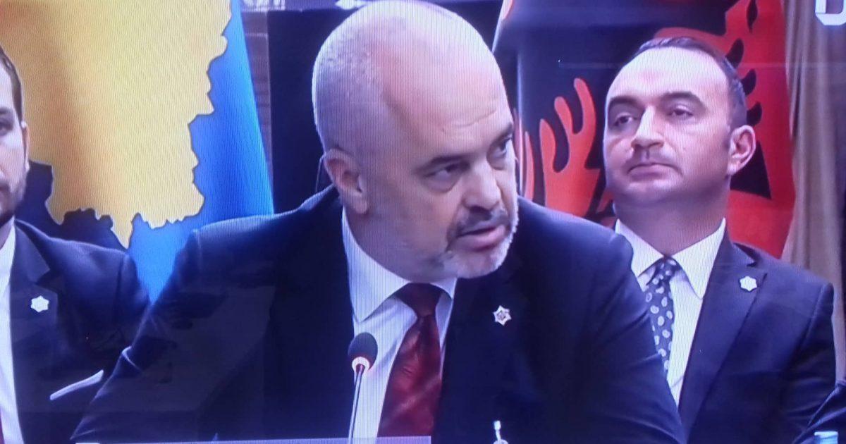 """""""What the Fuck"""", thotë Edi Rama, kur flet për qasjen e Serbisë ndaj Kosovës"""
