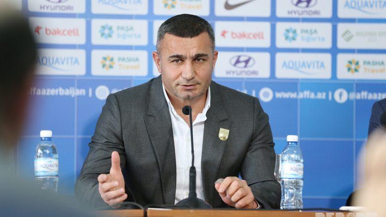Trajneri i Azerbajxhanit, Gurbanov: Gjasat 50-50, kemi ardhur për të fituar