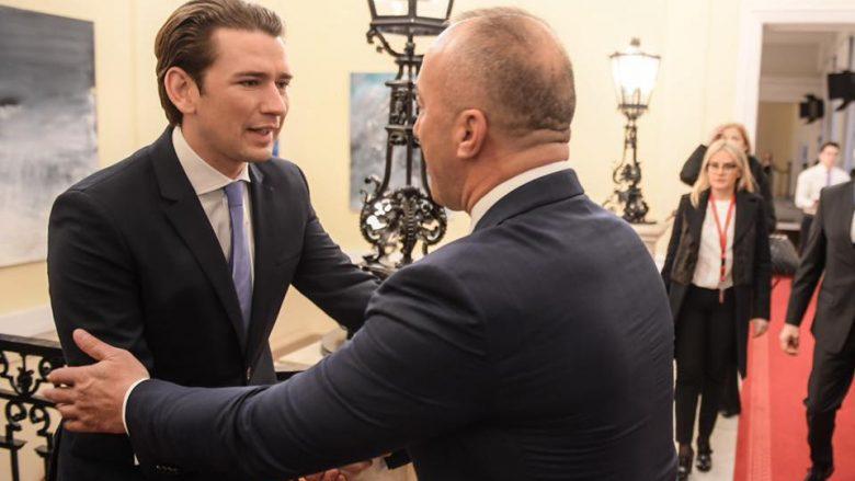 Haradinaj në Vjenë, kërkon që liberalizimi i vizave të hyjë në agjendë të BE-së