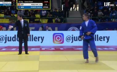 Majlinda Kelmendi kalon në finale të Grand Prix 'Tashkent 2018'