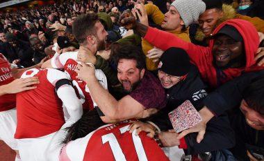 Mustafi krenar me shpirtin e ekipit në barazimin ndaj Liverpoolit