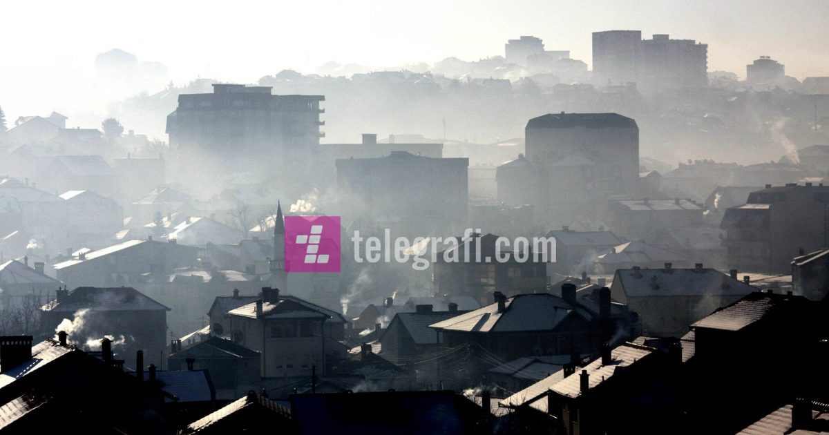 Ndotja e ajrit në Prishtinë  shkaqet dhe pasojat
