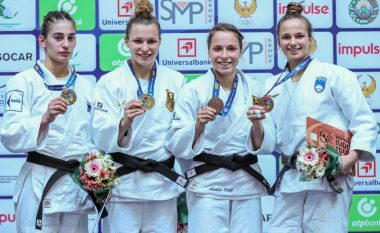 Nora Gjakova e pafat, fiton vetëm të argjendtën pas humbjes në finale të 'Tashkent 2018'