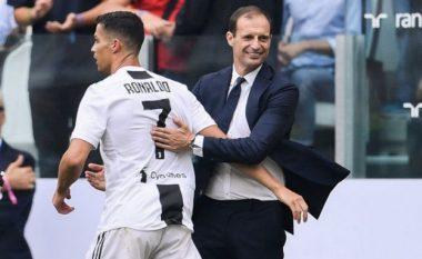 Allegri: Ronaldo e meriton Topin e Artë