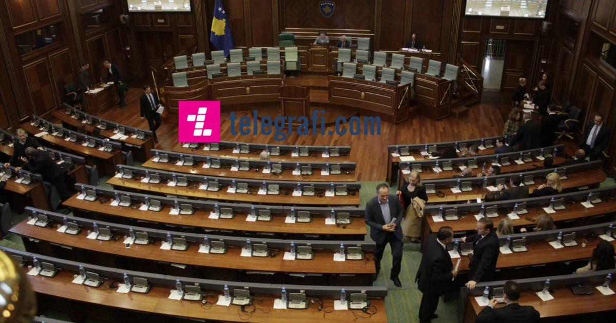Në mungesë kuorumi, ndërpritet seanca e Kuvendit