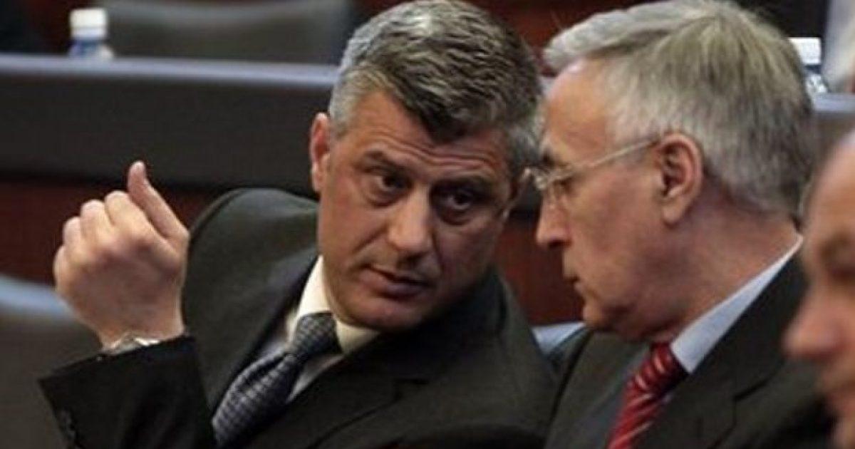 Hashim Thaçi përgjigjet në shtatë pyetjet e Jakup Krasniqit