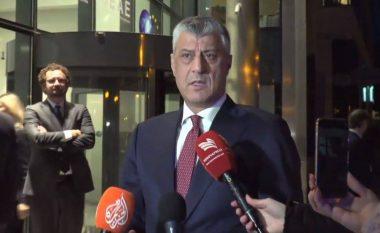 Thaçi në Bruksel: Do të jetë e vështirë, por do të bëj përpjekje maksimale për arritjen e një marrëveshje (Video)