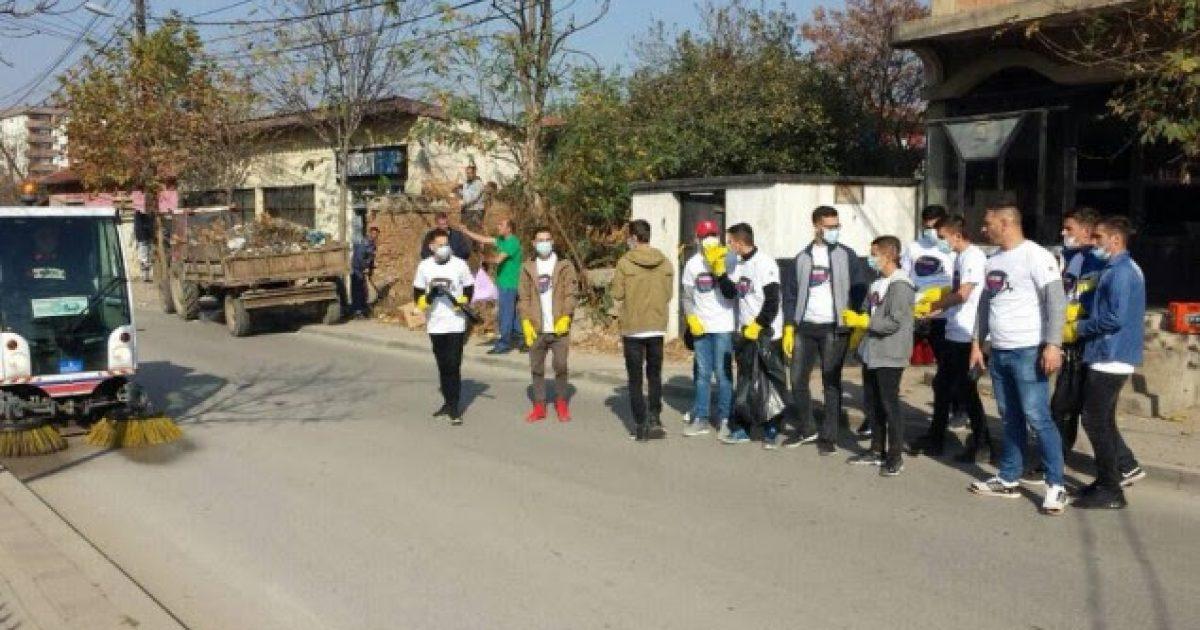 Aksion pastrimi në Gurrakoc të Istogut