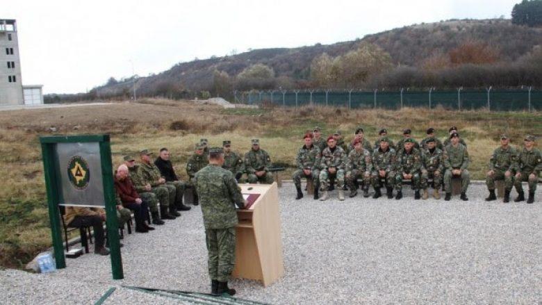 """Pjesëtarë të FSK-së dhe FAM trajnohen në kazermën """"Adem Jashari"""""""