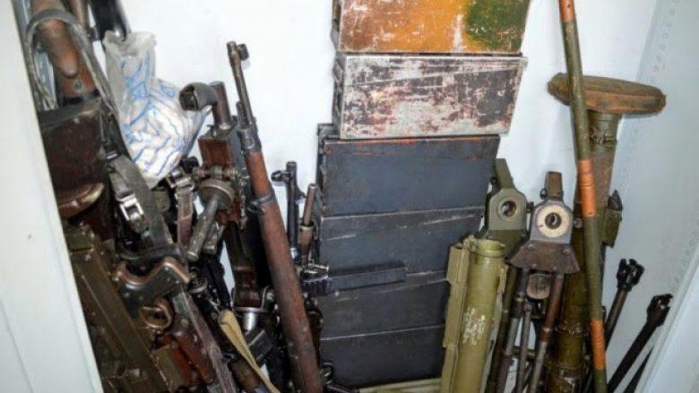 Sekuestrohet një 'depo' me armë në komunën e Ranillugut