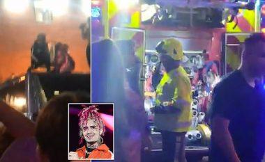 """Fansat ikin në panik nga koncerti i Lil Pump, evakuohet i gjithë stafi për shkak të shpërthimit të """"bombave të tymit"""""""
