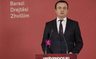 Kurti: Thaçi do ta ketë fatin e Gruevskit
