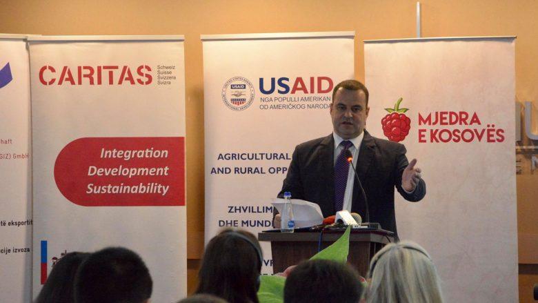 Zëvendësministri Krasniqi: MBPZHR-ja 3 milionë euro për zhvillimin e sektorit të mjedrës