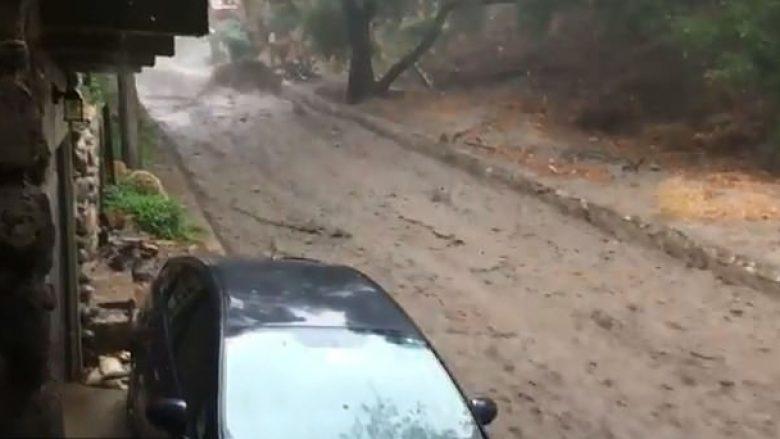 Pas shirave të rrëmbyeshëm, pjesa jugore e Kalifornisë goditet nga rrëshqitja e baltës – bllokohen rrugët kryesore (Video)