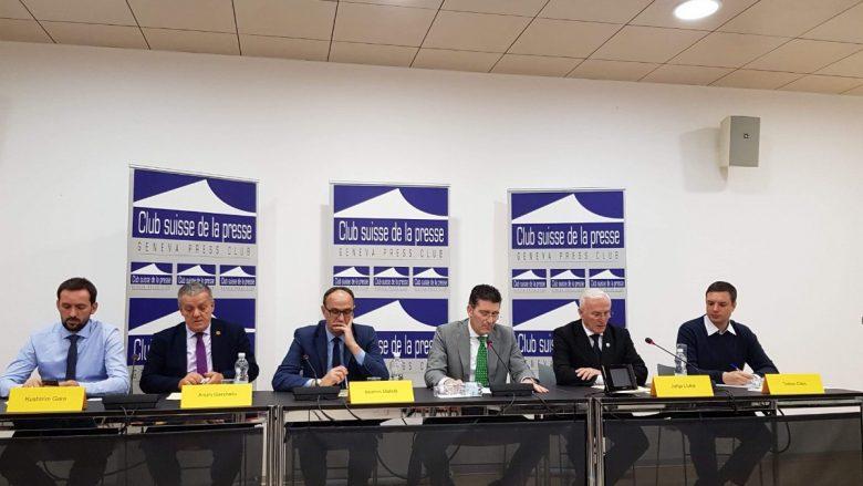 Komisioni qeveritar për persona të zhdukur diskuton në Gjenevë për të pagjeturit