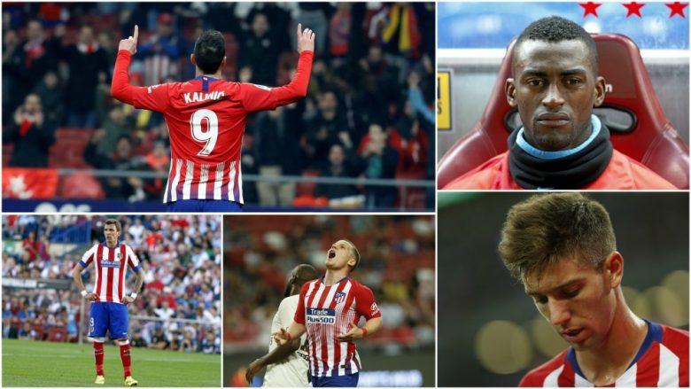 Atletico Madrid vazhdon të jetë në kërkim të një numri 9 – shumë afrime e largime, por ende pa sukses