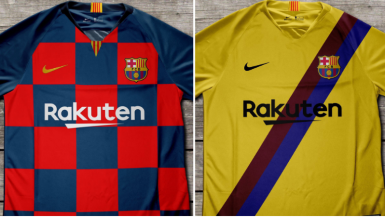 Fanellat e Barcelonës për sezonin e 2019/20 janë hakuar dhe kanë rrjedhur në internet, ajo për ndeshjet vendas e veçantë me katrorë sikurse e Kroacisë
