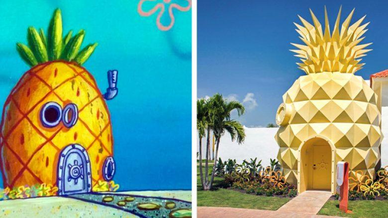 3. Shtëpinë e ananasit 'SpongeBob'