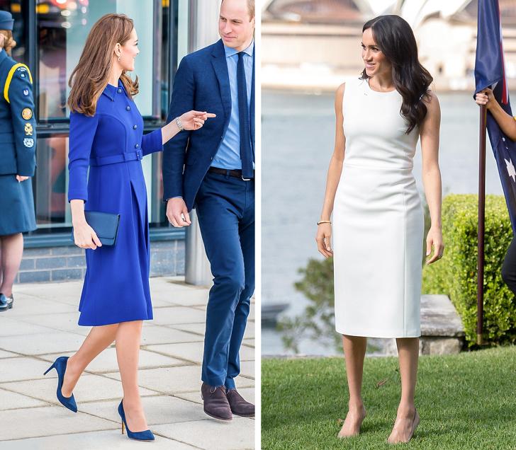 10 Truket Që Përdorin Kate Middleton Dhe Meghan Markle Për