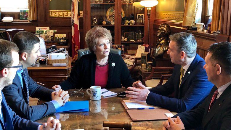 Veseli në SHBA, diskuton për thellimin e bashkëpunimit Kosovë – Iowa