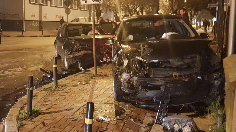 Aksident në Tetovë, ka të lënduar (Foto)