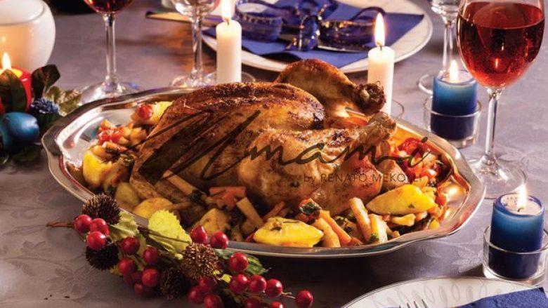 Gjeli deti i mbushur, çfarë nuk duhet harruar për recetën tradicionale të Vitit të Ri