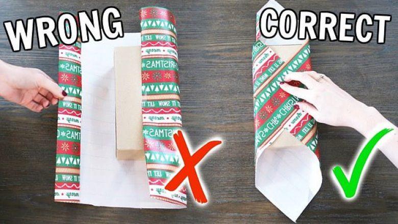 Metoda gjeniale për t'i mbështjellë dhuratat