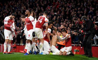 Derbi londinez i takon Arsenalit, Topçinjtë fitojnë ndaj Tottenhamit në një përballje mbresëlënëse
