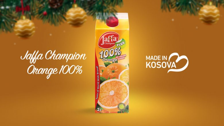 Jaffa Orange  100%, prodhim vendor me shije unike