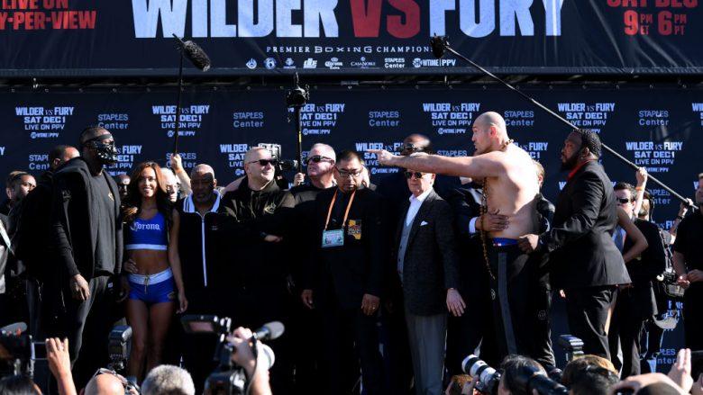 Tensionet kanë qenë të vazhdueshme ndërmjet Deontay Wilder dhe Tyson Fury (Foto: Harry How/Getty Images/Guliver)