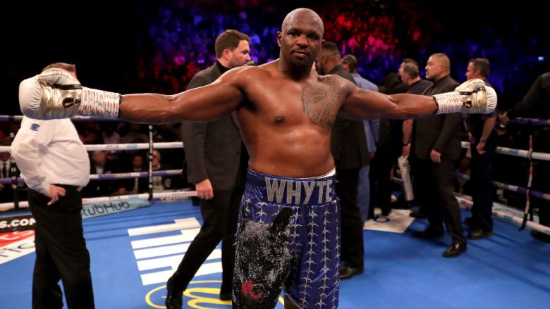 Dillian Whyte fitoi me nokaut ndaj Dereck Chisoras (Foto: Richard Heathcote/Getty Images/Guliver)